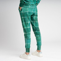 Tiles Emerald Green Pants Women