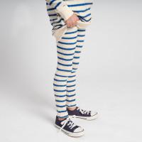 Breton Blue Leggings Kinder
