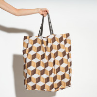 Wooden Cubes XL Sleepover Bag