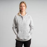 Corduroy Crazy Seal Grey Hoodie Women