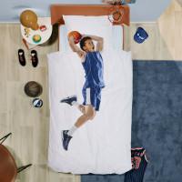 Basketball Star Blue linge de lit