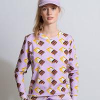 Chocolate Dream Purple Sweater Women