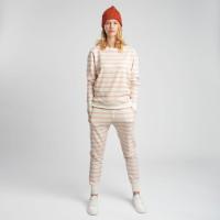 Breton Pink Sweater & Pants Set Women
