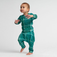 Tiles Emerald Green Sweater Baby