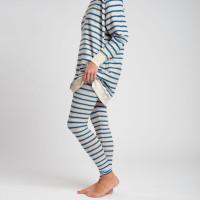 Breton Blue Legging Women