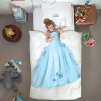 Princess Blue duvet cover