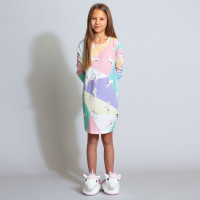 Unicorn Disco Long Sleeve Dress Kids