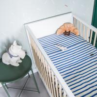 Breton Blue Baby Laken