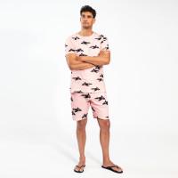 Orca Pink T-shirt & Shorts Set Heren