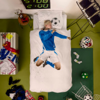 Soccer Champ Blue duvet cover