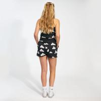 Ensemble débardeur & shorts pour femme Cloud 9 Grey Black