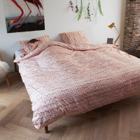 Twirre Dusty Pink FLANNEL duvet cover
