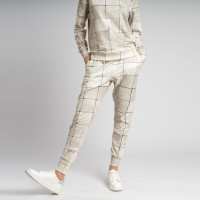 Tiles Pearl White Broek Dames