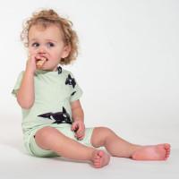 Orca Green T-shirt & Shorts Set Baby