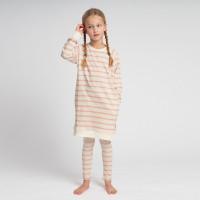 Breton Pink Sweater Dress & Legging Set Kids