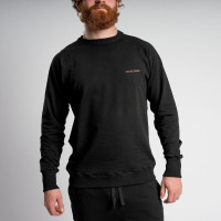 Uni Black Sweater Herren