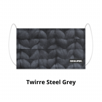 Twirre Steel Grey face mask