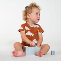 Cloud 9 Rusty Brown T-shirt Baby
