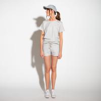 Grey Melee Set T-shirt Dames
