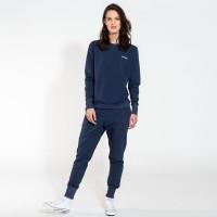 Uni Navy Sweater & Hosen-Set Damen
