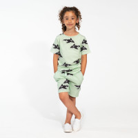 Orca Green Shorts Kinder