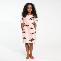 Orca Pink T-shirt Dress Kids