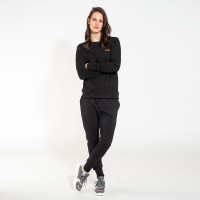 Set Pull & Pantalon Uni Black Femmes