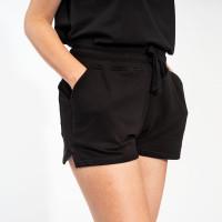 Uni Black Shorts Women