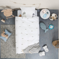 Arctic Friends FLANNEL duvet cover