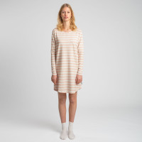 Breton Pink Long Sleeve Dress Dames