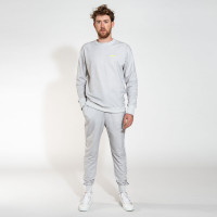 Uni Grey Sweater & Pants Set Men