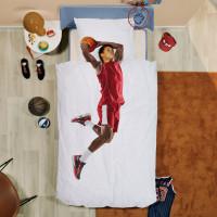 Basketball Star Red linge de lit