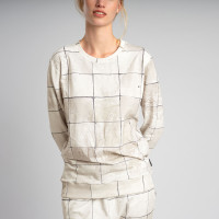 Tiles Pearl White Sweater Dames