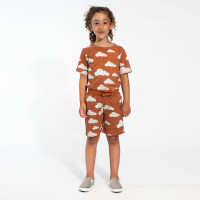 Shorts pour enfant Cloud 9 Rusty Brown