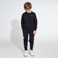 Uni Black Sweater & Pants Set Kids