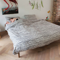 Twirre Cool Grey duvet cover