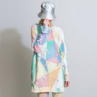 Unicorn Disco Sweater Dress Women