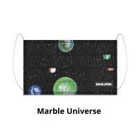 Marble Universe face mask