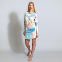 Unicorn Disco Long Sleeve Dress Women