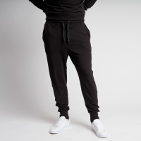 Uni Black Pants Men
